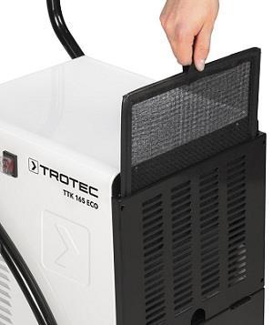 Очистка воздуха при осушении Trotec TTK 165 ECO