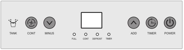 Панель управления для осушителя Celsius MDH90 New